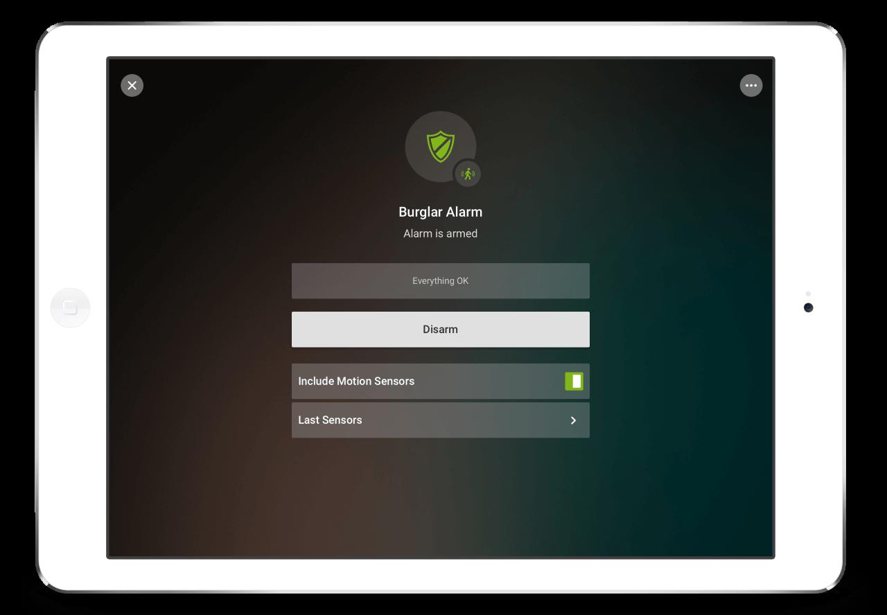 Loxone-App-Alarm
