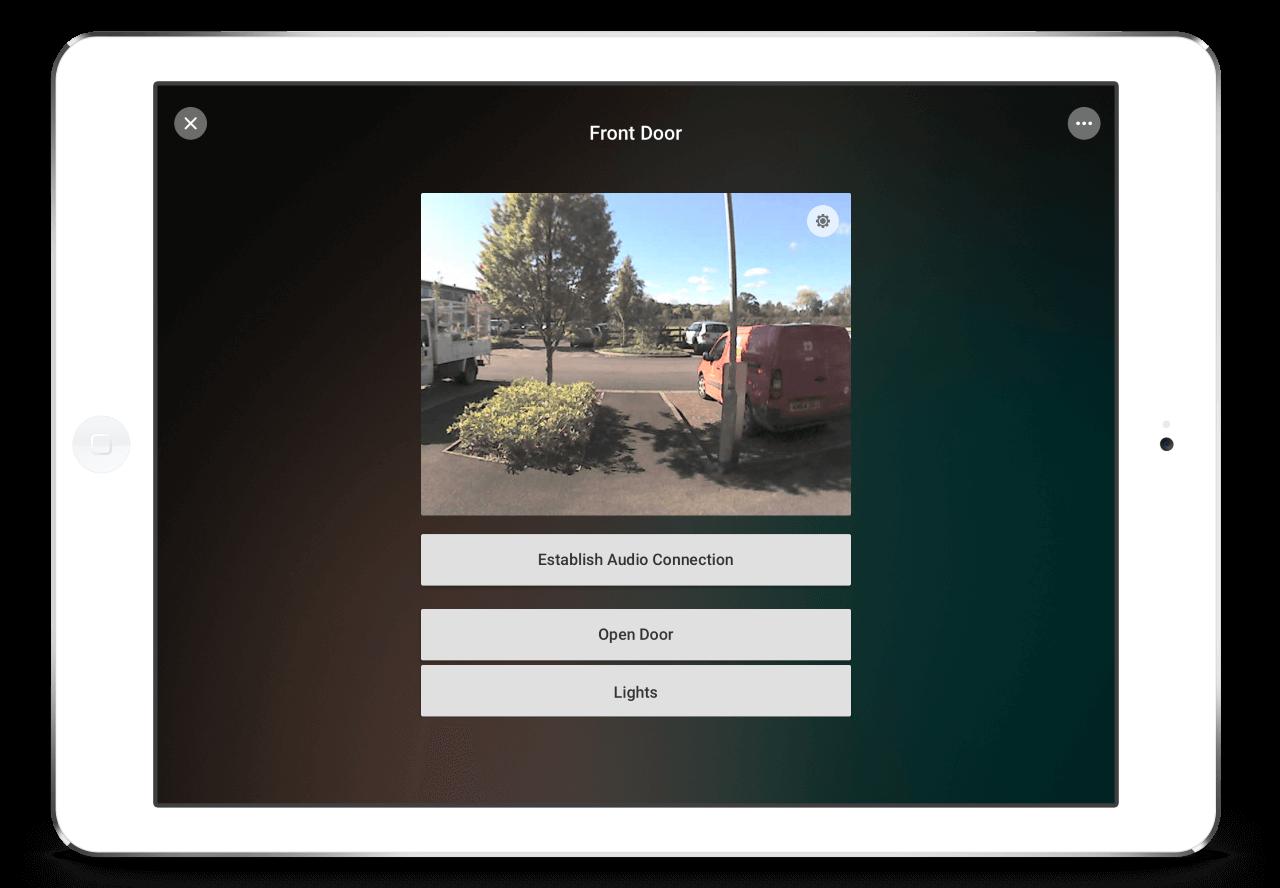 Loxone-App-Intercom