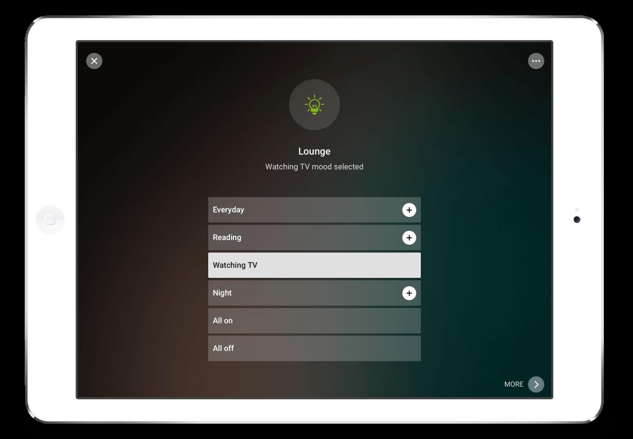 Loxone-App-Szenen