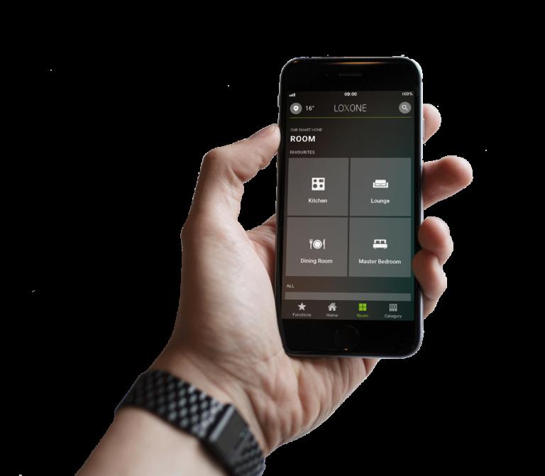 Loxone Smart Home App - freigestelltkategorien