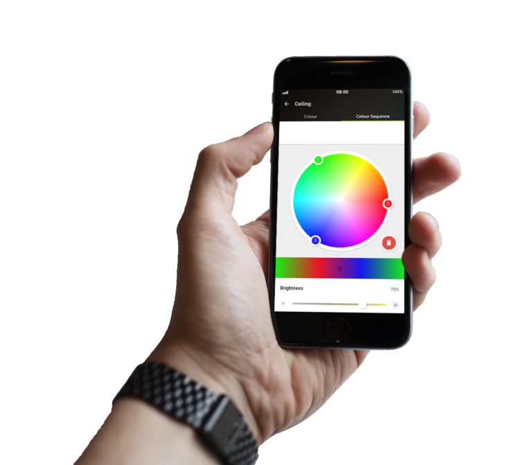 Loxonee Smart Home App - colorpicker